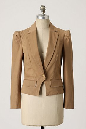 Boundless Blazer - Anthropologie.com :  jacket blazer front pockets twill
