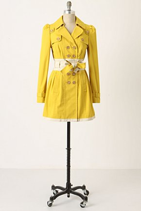 Kensington Jacket - Anthropologie.com :  jacket ribbon twill trench coat