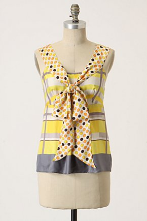 Sweet-And-Sours Blouse - Anthropologie.com :  striped blouse bow tie drapes
