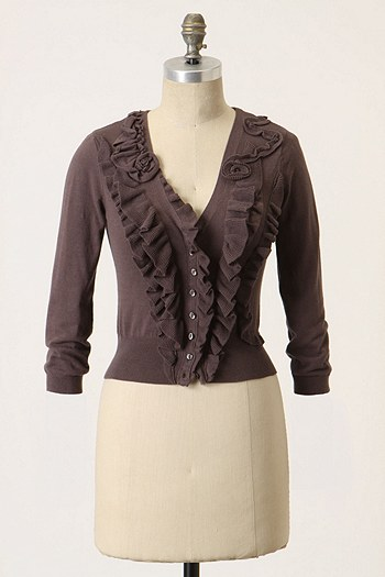 Roaming Frills Cardigan