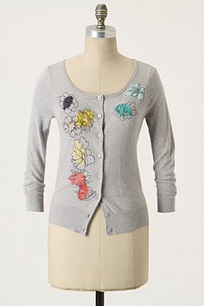 Scribbled Bouquet Cardigan