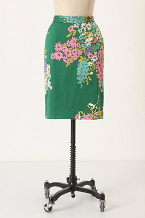Penciled Abronia Skirt - Anthropologie.com