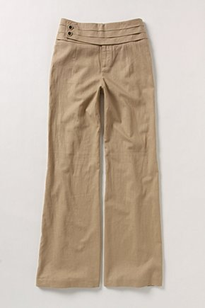Countless Steps Wide-Legs - Anthropologie.com :  high waist pants front pockets wide leg