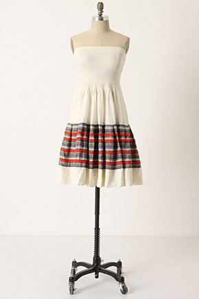 Around The World Dress - Anthropologie.com :  flowy frock twill stripes