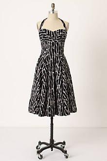 Traced Twirls Dress