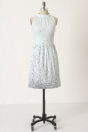 Rhomboid Rush Dress - Anthropologie.com :  sleeveless cotton geometric keyhole detail