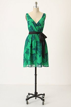 Arribada Current Dress - Anthropologie.com :  marine inspired silk day dress sash