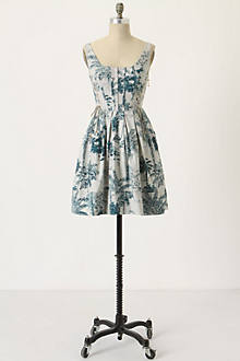 Majestic Cypress Toile Dress