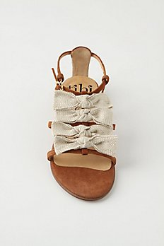 Braided Bowtie Sandals