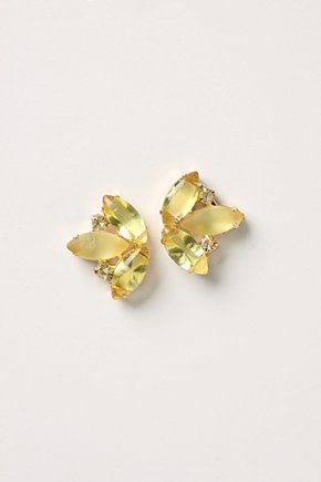 Enchanted Cluster Posts - Anthropologie.com :  posts monochromatic yellow retro