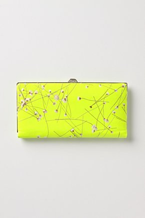 Electric Nostalgia Wallet - Anthropologie.com :  wallet warm colors clutch accessories