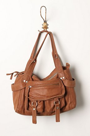 Emollient Satchel - Anthropologie.com :  leather brown carryall satchel