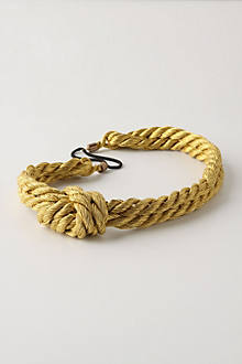 Golden Rope Headband