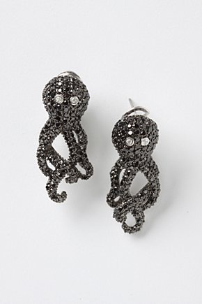 Swanky Octopus Earrings - Anthropologie.com from anthropologie.com