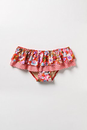 Gingham & Geranium Bottoms - Anthropologie.com