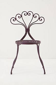 Le Versha Chair, Plum