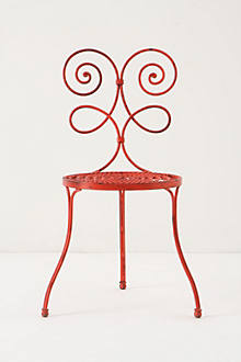 Le Versha Chair, Red