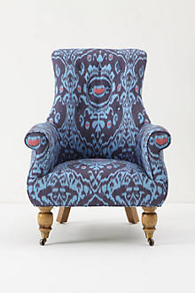 Astrid Chair, Nile Ikat