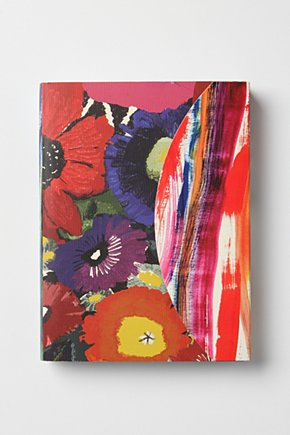 Firework Florals Journal  :  journal planner calendar anthropologie