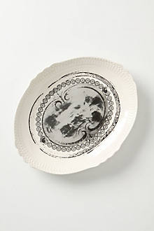Inkwell & Argent Oval Platter