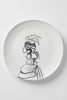 Ladies-In-Waiting Dinner Plate