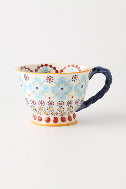 Sale alerts for Anthropologie With A Twist Teacup - Covvet