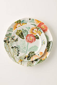 Watercolor Petals Dinnerware
