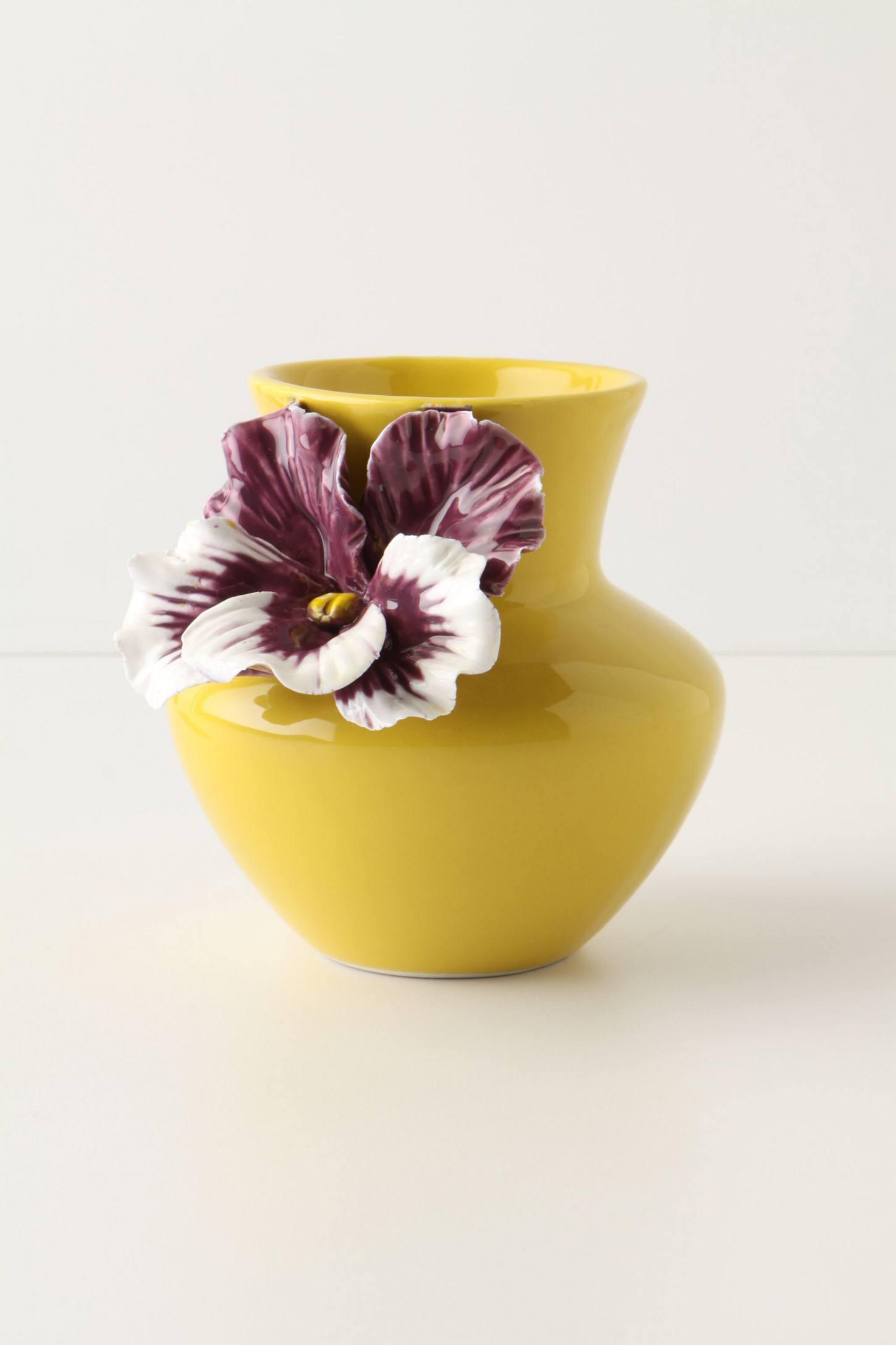 Pansy Petite Vase