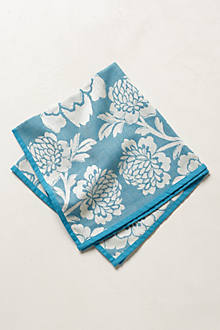 Smoke Dahlia Napkin Set