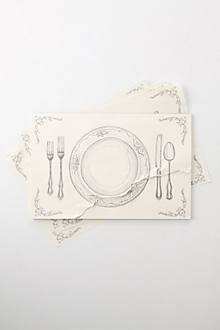Fine Dining Placemats