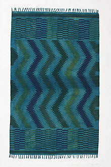 Saturated Zigzags Rug