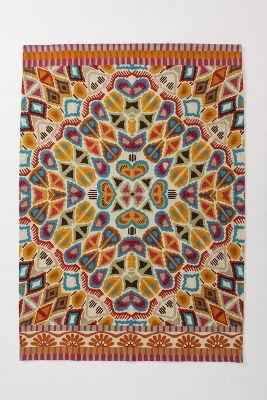 Flutter Pattern Rug
