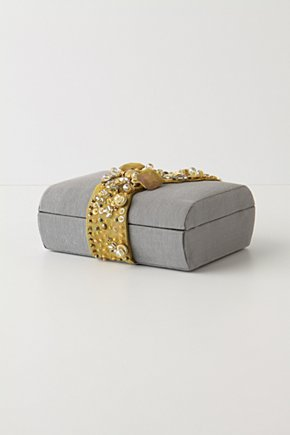 Gem-Clasped Jewelry Box - Anthropologie.com from anthropologie.com