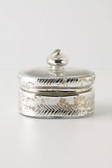 Mercury Trinket Box, Oval