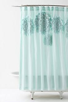 Sculpted Mums Shower Curtain