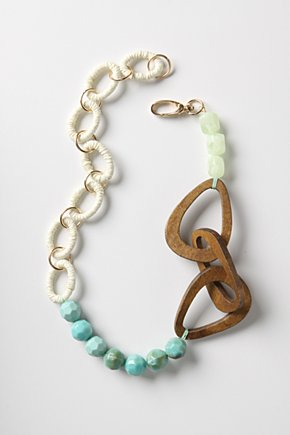 Wide World Necklace - Anthropologie.com :  necklace white accessory womens