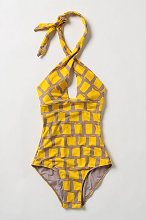 Yellow Brick Maillot - Anthropologie.com from anthropologie.com
