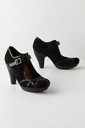Smoke Signal Mary-Janes - Anthropologie.com :  womens rounded toe brass hardware neutral
