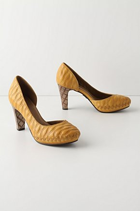 Waving Grains Pumps - Anthropologie.com