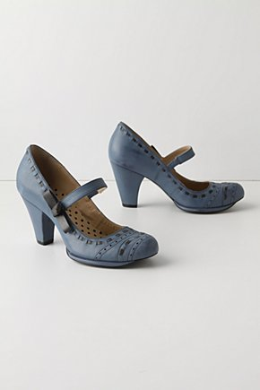 Dusky Roads Mary-Janes - Anthropologie.com :  maryjanes leather oxfords topstitching