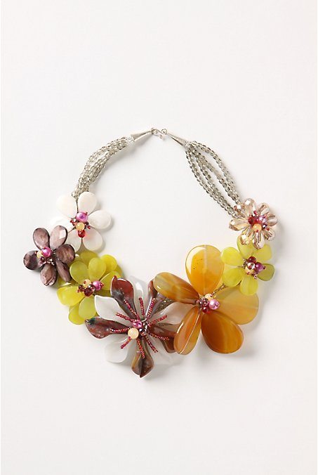 Lanai Welcome Necklace - Anthropologie :  necklace jewelry necklaces bib necklace