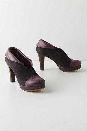 Purple Unfolding Booties - Anthropologie.com from anthropologie.com