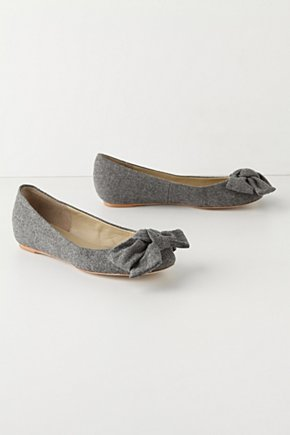 Slow Chill Skimmers - Anthropologie.com :  wool oversized bow skimmers
