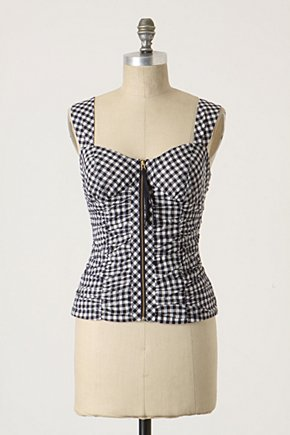 Bayou Gingham Cami - Anthropologie.com :  gingham country inspired camisole navy and white