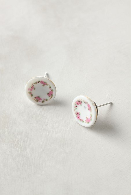 Tea Time Earrings - Anthropologie.com :  tea jewelry dollhouse earrings