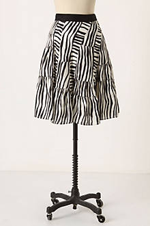 Leisured Zebra Skirt