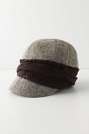 Grace Of Lace Hat- Anthropologie.com :  shopping messenger boy hat hat anthropologie
