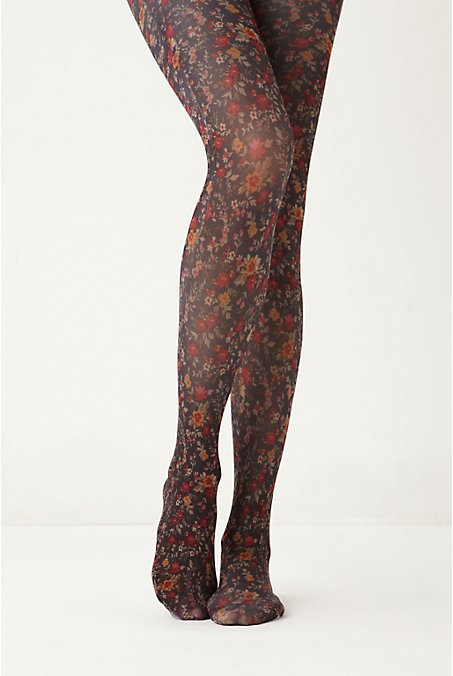Anthropologie - Flower Tights