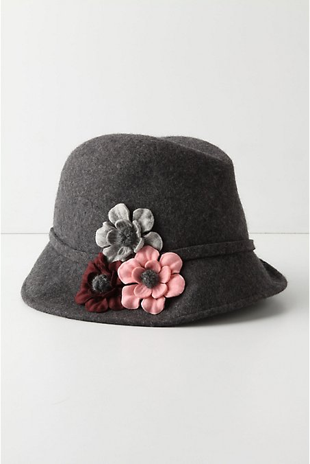 Anthropologie - Flora Fedora :  wool hat accessories hats