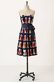 Highest Accolades Dress - Anthropologie.com :  strapless clothing printed dress dresses